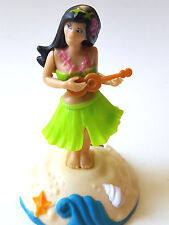 Dancing Hula Girl Solar Powered Dashboard Bobble Motion Hawaiian Swaying Hips