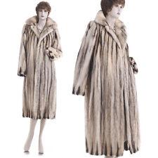 Mint! Designer David Green European Fitch Fur Coat