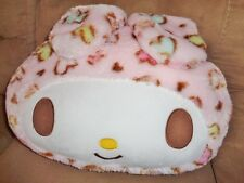 "Hello Kitty Pink Easter Bunny 16x12"" Pillow Pastel Hearts Sanrio Super Soft"