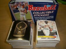 1990 PANINI BASEBALL COMPLETE SET of 388 Stickers