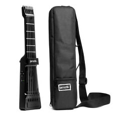 Jamstik + Plus Bluetooth Enabled Real String Frets Digital Guitar & Case Bundle