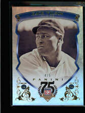HACK WILSON 2014 PANINI HALL OF FAME 75TH ANNIVERSARY GOLD #4/5 AB8577