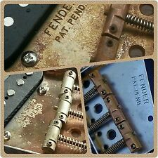 Relic Fender Telecaster bridge plate &  saddles - choose subtle to Outrageous!