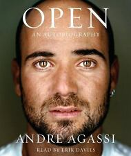Open : An Autobiography by Andre Agassi, book on 5 CD's 6 1/2 hours