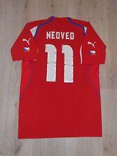 CZECH REPUBLIC 2004/2005 FOOTBALL SHIRT JERSEY #11 NEDVED HOME PUMA SIZE M