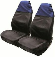 FORD RANGER 1999-2006 Nylon Seat Cover Protectors Black / Blue 1+1