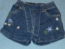 Pumpkin Patch Gorgeous Girls Embroidered Denim Shorts, Size 1