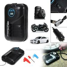 12V Portable Digital DC Electric Inflator Air Compressor Car Tyre Pump 250PSI