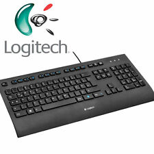 LOGITECH K280e corded Keyboard / Tastatur USB - black for Business - DE - QWERTZ