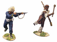"BRITAIN SOLDIERS ZULU WARS""Fighting Retreat  BRIT ROYAL ART REDUCED WB20106"