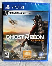 Tom Clancy's Ghost Recon Wildlands - PlayStation 4 BRAND NEW Factory SEALED ✔✔