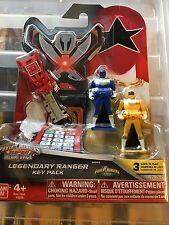 Power Rangers megaforce key set for legendary morpher zeo rare set