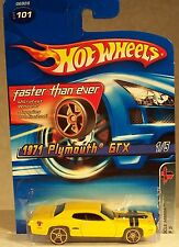 2005 HOT WHEELS FASTER THAN EVER 1971 PLYMOUTH GTX