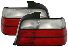 RED WHITE TAIL lights CLASSIC for BMW 3 Series E36 90-98 REAR LIGHTS