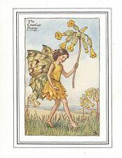 Flower fairies impression vintage: la primevère fairy