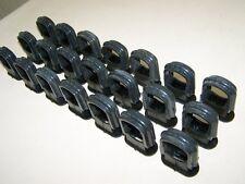 10 Antique Serre-câble Taille M Bakélite pour Interrupteur Prise serre-câble