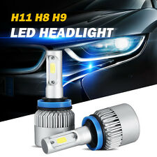 2x H11 H8 H9 160W 16000lm LED Headlight Kit Car Head Light Bulbs Driving Lamp
