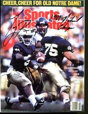 Tony Rice Signed Photo 8x10 Autographed Notre Dame 30943