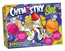 John Adams CHEMISTRY SET 100 Fun Experiments Educational Science Kit 10+