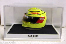 Jousi Small Scale resin Ralf Schumacher 2001 season crash helmet + case