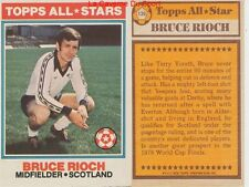 139 BRUCE RIOCH # SCOTLAND ALL STARS CARD PREMIER LEAGUE TOPPS 1978