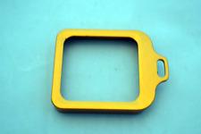 Billet Aluminum Anodized Lens Protection & Lanyard Ring (Orange, GoPro Hero