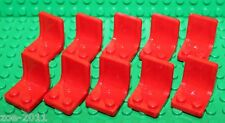 Lego 10x Red Seat , Chair NEW!!!