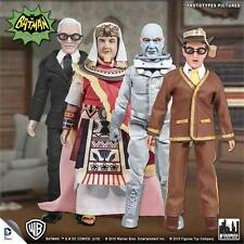 BATMAN 1966 TV SERIES 4 SET OF 4 FIGURES KING TUT, MR FREEZE, BOOKWORM, ALFRED