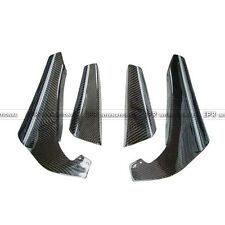 For Nissan Skyline R34 GTR Carbon Fiber Front Bumper Canard Splitter Kit