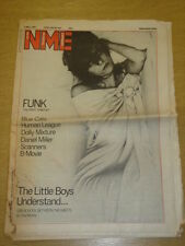 NME 1981 MAY 2 BLUE CATS HUMAN LEAGUE DOLLY MIXTURE