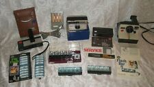 Lot of 4 Vintage Cameras & Flip Flash / Flash Cubes - Untested