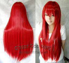 "24""32""40""47""59"" Long Straight Cosplay Fashion Wig 40Colors heat resistant"