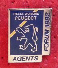 PIN'S PEUGEOT AGENTS PIECES D'ORIGINE FORUM 1992