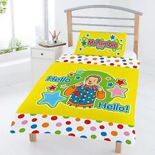 SOMETHING SPECIAL MR TUMBLE JUNIOR DUVET COVER SET TODDLER BEDDING NEW OFFICIAL
