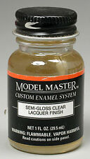Testors Model Master Semigloss Clear Lacquer 1 oz 2016 TES2016