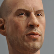 "Headplay 1:6  Vin Diesel Head Sculpt Model For 12"" Male Action Figure Body"