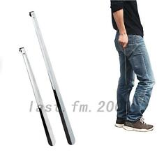 Home Stainless Steel Silver Metal Shoes Remover Shoehorn Extra Long Shoe Horn