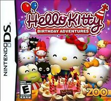 NEW Hello Kitty Birthday Adventures Nintendo DS