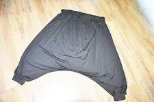 Myo-Lagenlook ° Jersey ° beduinos-Dance-pantalones ° negro ° XXL, XXXL, XXXXL,