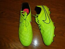 NIKE TIEMPO GENIO LEATHER FG MENS SOCCER CLEATS 631282-770 NEW SIZE 11