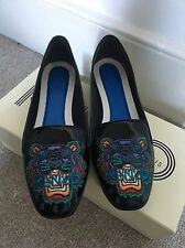 Kenzo tiger Patent Leather Ballet Flats