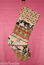 Handmade Decorative Christmas Stocking For Pet - Dogs, Fire hydrants, Bowls
