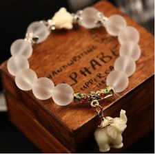 Natural Frosted Crystal Bracelet Fashion Cute Elephant Baby Major Suit Beautiful