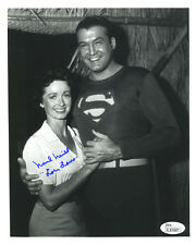 "(SSG) NOEL NEILL Signed 8X10 B&W ""Superman"" Photo with a JSA (James Spence) COA"