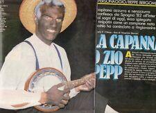 SP91 Clipping-Ritaglio 1990 Beppe Bergomi La capanna dello zio Pepp
