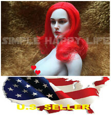 ❶ 1/6 European American Female Head sculpt Red-haired for Hot Toys Phicen kumik❶