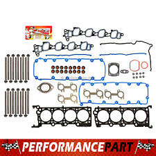 MLS Head Gasket Bolts Set 99-00 Ford Mustang GT V8 4.6 SOHC VIN X
