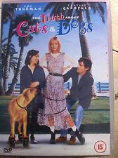 Uma Thurman Ben Chaplin Jamie Foxx TRUTH ABOUT CATS & DOGS ~ 1996 Romcom UK DVD