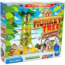 Grafix Monkey Tree Game Trouble Crazy Kids Party Board Game Xmas Gift 01-0129