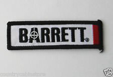 Barrett Firearms Sniper Rifles M82 Rifle Embroidered Patch 3.75 inches